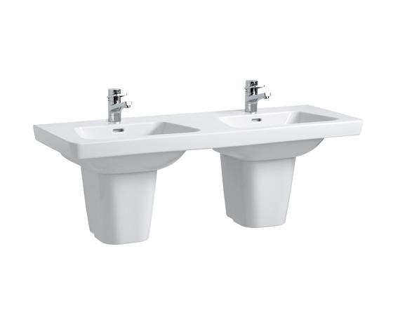 Modernaplus | Double countertop washbasin by Laufen | Wash basins