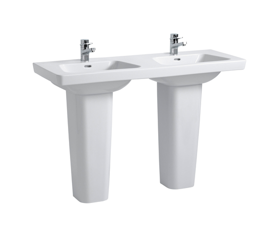 Modernaplus | Double countertop washbasin by Laufen | Wash basins