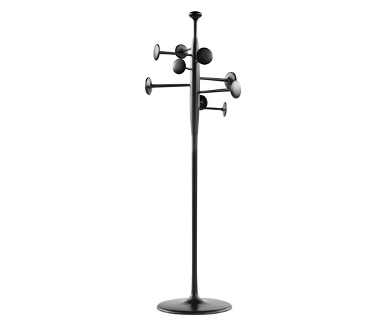 Trumpet Coat Stand - Black de Mater | Percheros