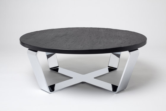 Slate Table Black | Coffeetable by Edition Nikolas Kerl | Lounge tables