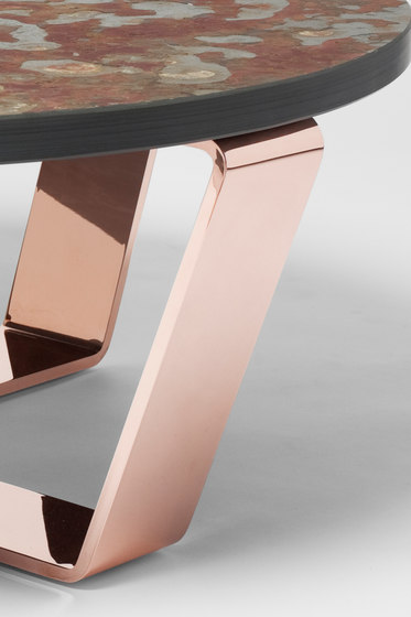 Slate Table Copper Brasil | Coffeetable by Edition Nikolas Kerl | Lounge tables