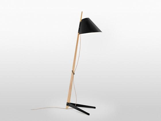 Billy BL Floor Lamp von Kalmar | Allgemeinbeleuchtung