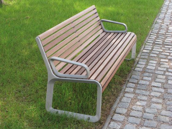 portiqoa Park bench by mmcité | Exterior benches