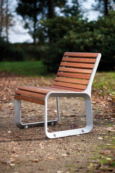 portiqoa Park bench by mmcité | Exterior chairs