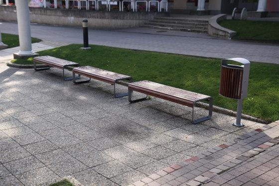 portiqoa Park bench di mmcité | Panche da esterno