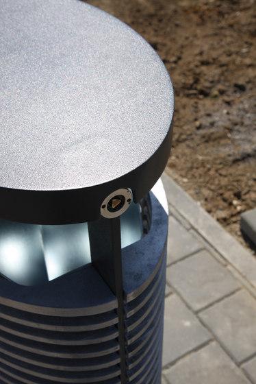 eclipe Litter bin by mmcité | Exterior bins