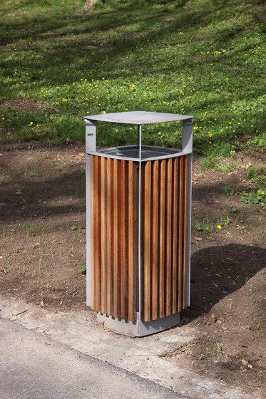 diagonal | Abfallbehälter von mmcité | Abfallbehälter