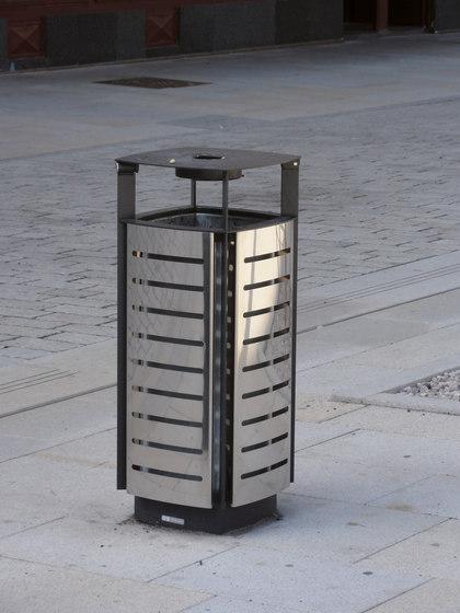 diagonal | Litter bin by mmcité | Exterior bins
