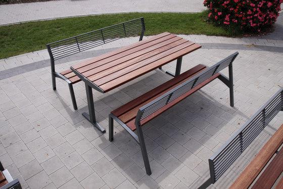 vera Park bench di mmcité | Panche e tavoli da esterno