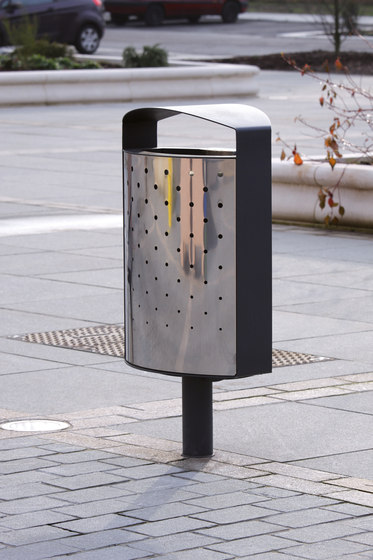 lena | Litter bin with cover by mmcité | Waste baskets
