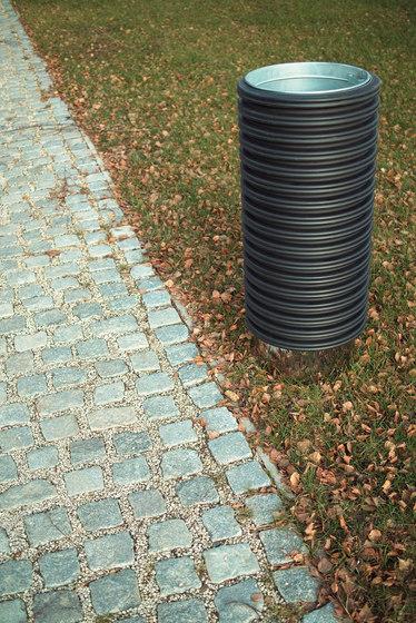 cylindre Litter bin by mmcité | Exterior bins