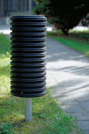 cylindre | Litter bin by mmcité | Exterior bins