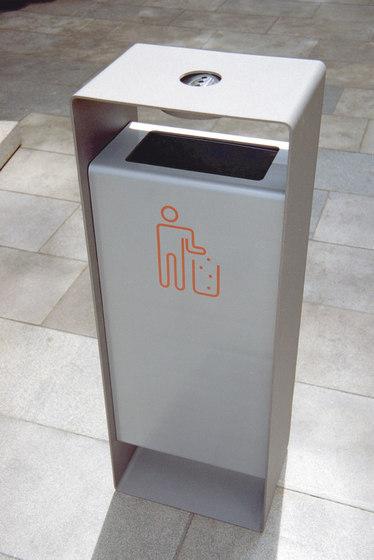 radium Litter bin by mmcité | Exterior bins