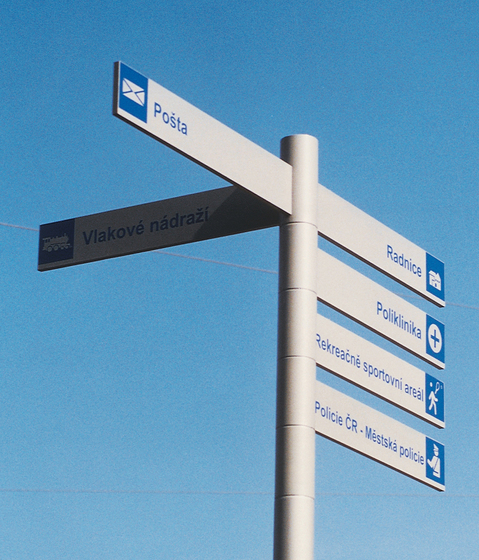 os Orientation system by mmcité | Signage / Wayfinding