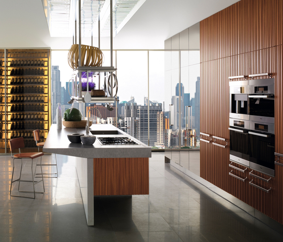 Fitted Kitchen Kitchen Design Specialists: Lignum Et Lapis By Arclinea