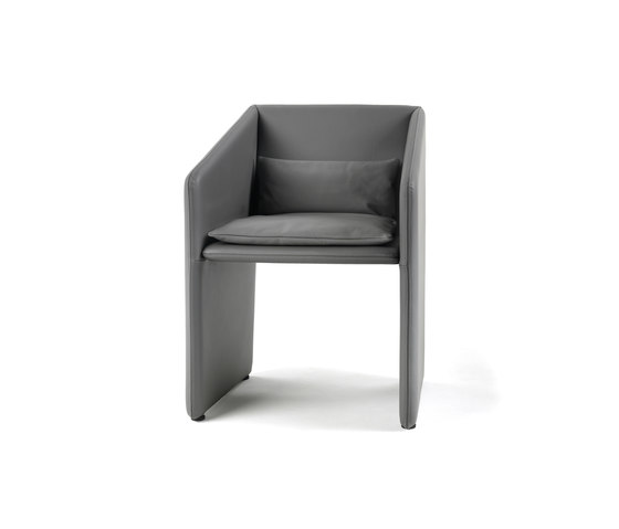 Box Armchair by Giulio Marelli | Visitors chairs / Side chairs