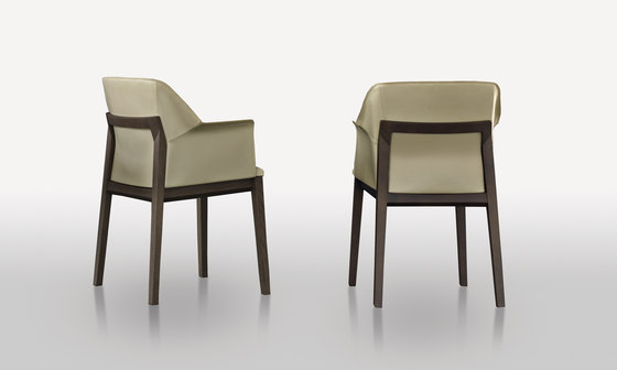 Tivan by Molteni & C | Restaurant chairs