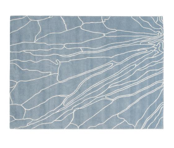 Butterfly Rug Blue 1 by GAN | Rugs / Designer rugs