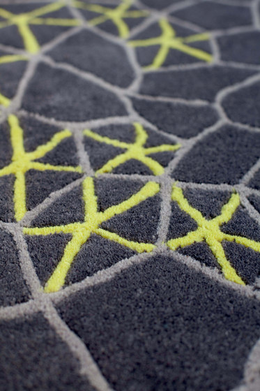 Materia Rug Grey 1 di GAN | Tappeti / Tappeti d'autore