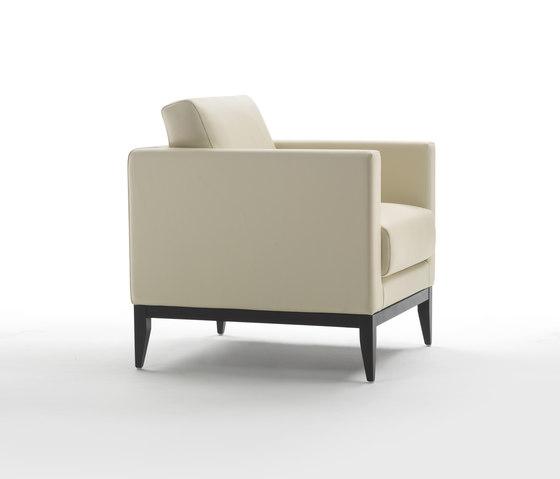 Cubic Wood Fauteuil de Giulio Marelli | Fauteuils d'attente