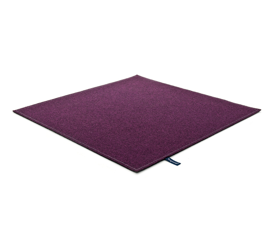 Fabric [Flat] Felt dirty lilac by kymo | Rugs / Designer rugs