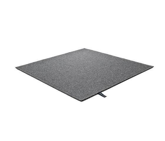 Fabric [Flat] Felt dark grey by kymo | Rugs / Designer rugs