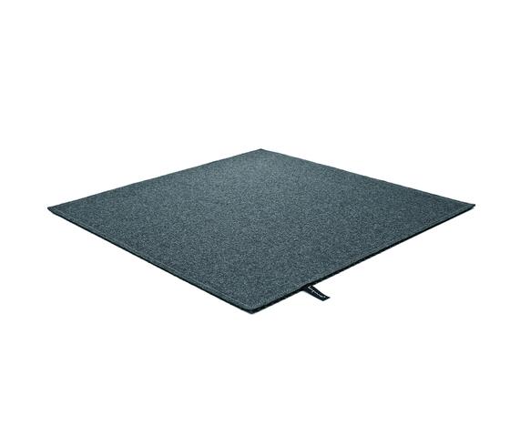 Fabric [Flat] Felt azur grey di kymo | Tappeti / Tappeti d'autore