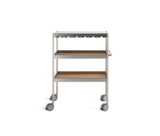 Butcher Carrello di Arclinea | Carrelli portavivande / carrelli bar
