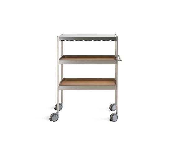 Butcher Wine rack trolley by Arclinea | Tea-trolleys / Bar-trolleys