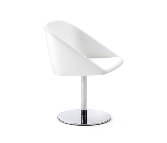 Skype Swivel chair by Giulio Marelli | Visitors chairs / Side chairs