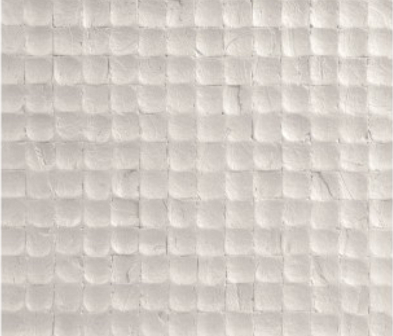Cocomosaic tiles fancy white von Cocomosaic | Kokosmosaike