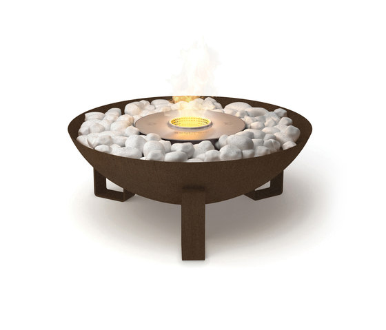 Dish by EcoSmart™ Fire | Garden fire pits