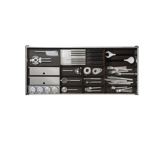 Cutlery insert by Arclinea | Kitchen organization