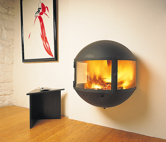 Édofocus 631 wall by Focus | Wood burning stoves