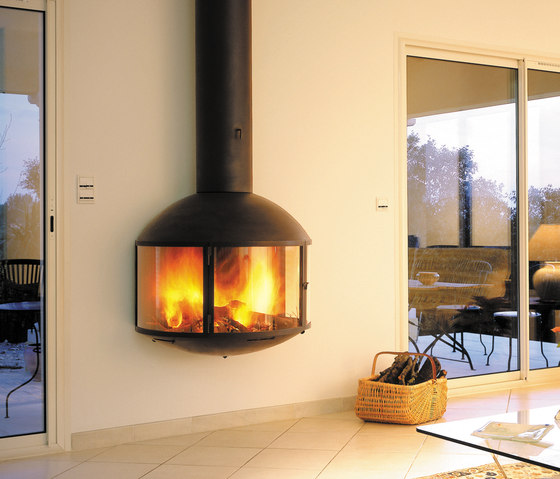 Édofocus 850 wall by Focus | Wood burning stoves