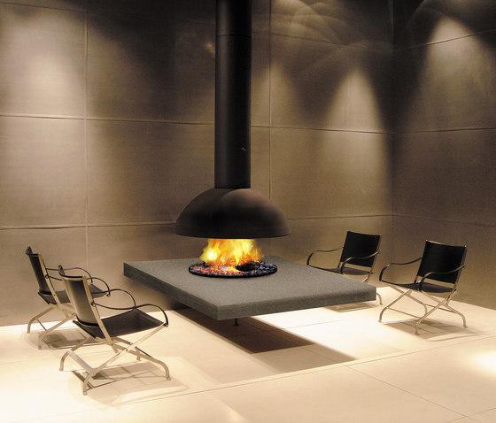 Mezzofocus hotte by Focus | Gas fireplaces