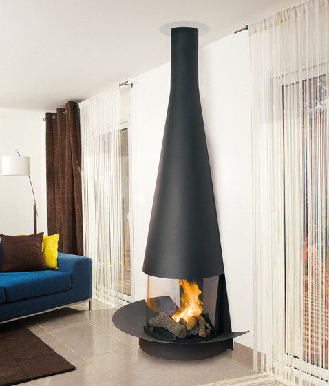 Filiofocus wall 1600 by Focus | Wood burning stoves