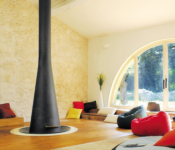 Filiofocus telescopic  2000 by Focus | Open fireplaces