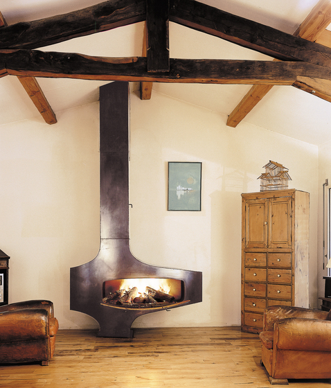 Hétérofocus 1900 by Focus | Wood burning stoves