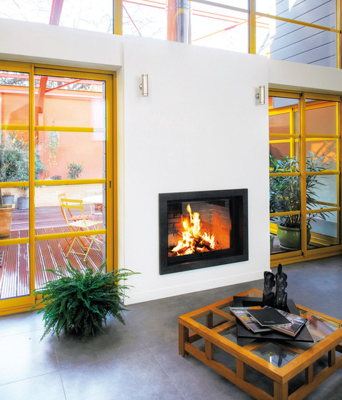 Unifocus 70 by Focus | Wood fireplaces