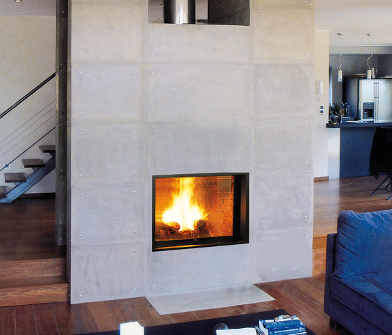 Unifocus 22 by Focus | Wood fireplaces