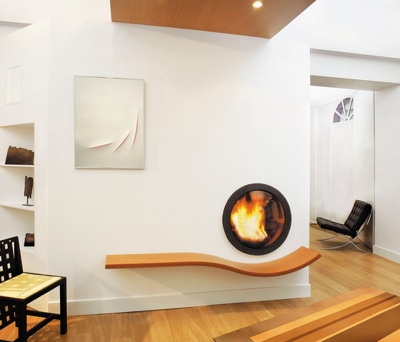 Oggifocus by Focus | Wood fireplaces