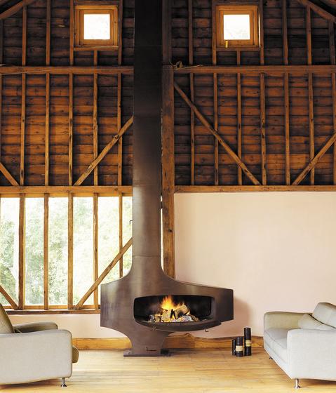 Hétérofocus 1400 by Focus | Wood burning stoves