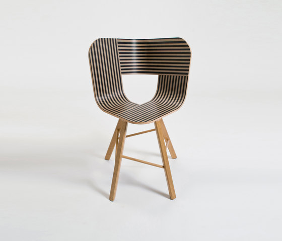 Tria Wood Chair 4 by Colé | Restaurant chairs