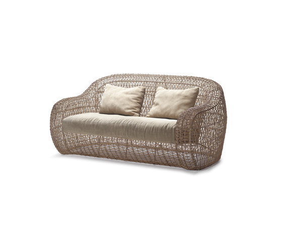Balou Easy Loveseat by Kenneth Cobonpue | Garden sofas