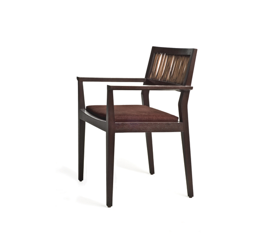 Kawayan Armchair* by Kenneth Cobonpue | Restaurant chairs