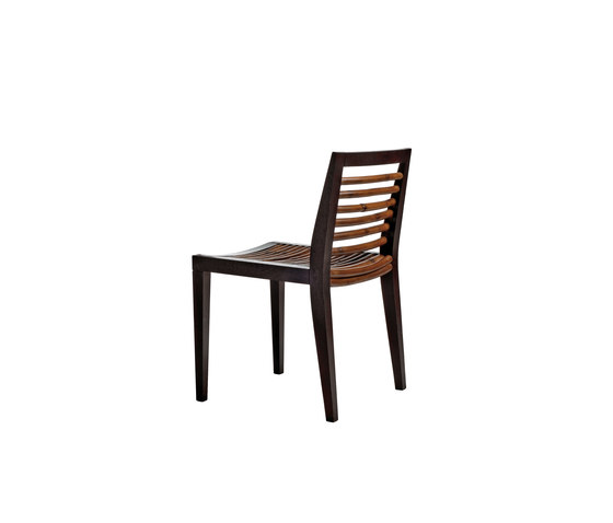 Kawayan Bistro Side Chair by Kenneth Cobonpue | Restaurant chairs