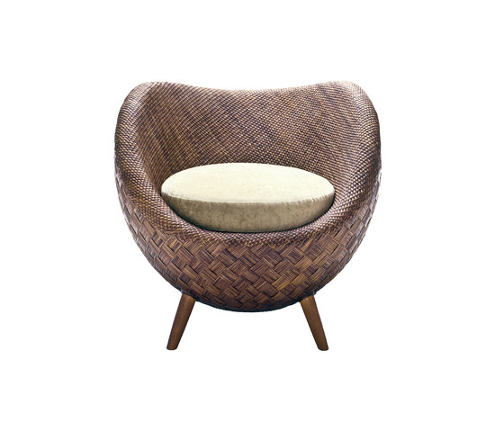 La Luna Easy Armchair von Kenneth Cobonpue | Loungesessel