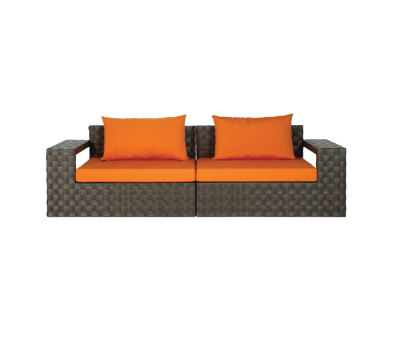 Link Combination by Kenneth Cobonpue | Garden sofas