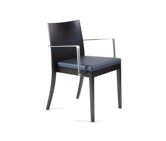 Ecoes Chair with armrests by Tekhne | Visitors chairs / Side chairs